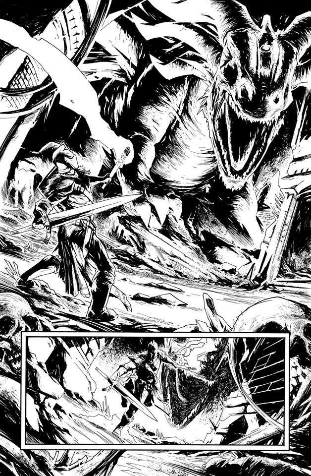 Dark Souls Comic teaser