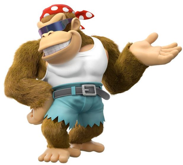 funky kong, donkey kong country: tropical freeze