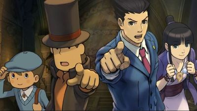 Professor Layton vs. Phoenix Wright: Ace Attorney Screenshot - Professor Layton vs. Phoenix Wright: Ace Attorney