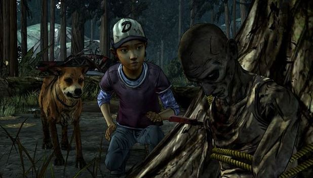 The Walking Dead Screenshot - The Walking Dead Season 2 dog