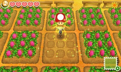 Harvest Moon: Connect to a New Land Screenshot - Harvest Moon Mario