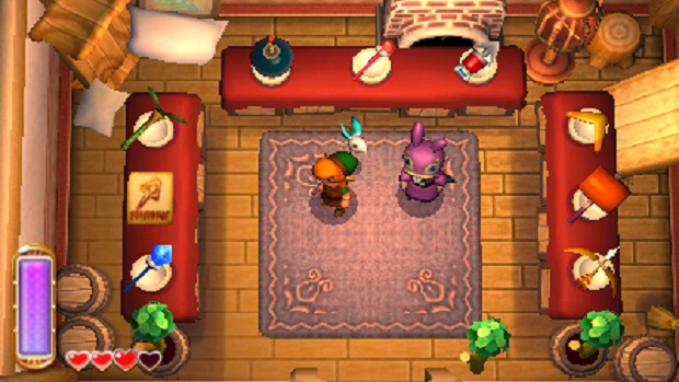 The Legend of Zelda A Link Between Worlds - 3DS - 1
