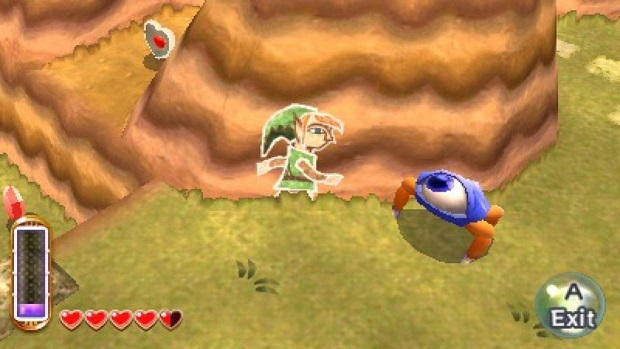 The Legend of Zelda A Link Between Worlds - 3DS - 2