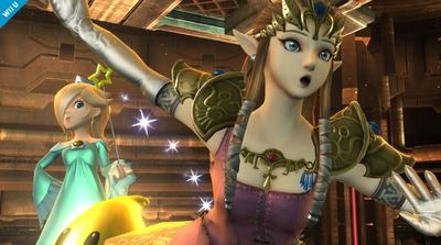 Super Smash Bros. for 3DS / Wii U Screenshot - Princess Zelda