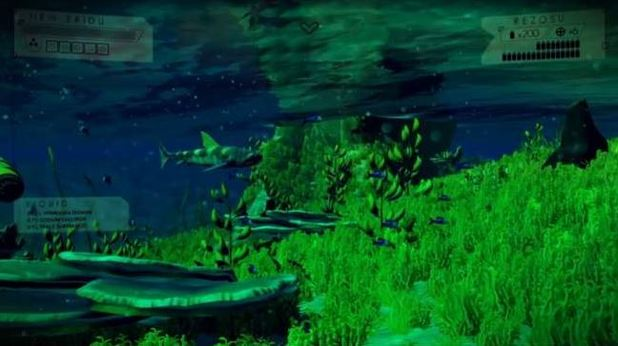 No Mans Sky under water