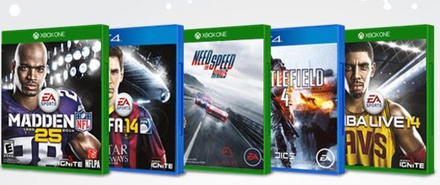 Xbox One and PS4 titles