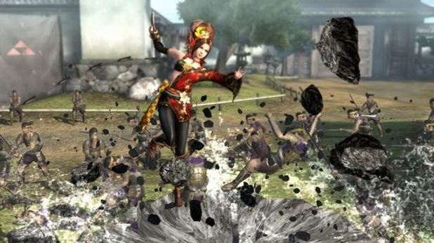 Screenshot - samurai warriors 4