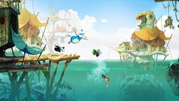 Rayman Legends water
