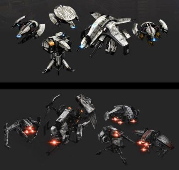 Killzone: Shadow Fall Screenshot - Killzone: Shadow Fall japan drone skin