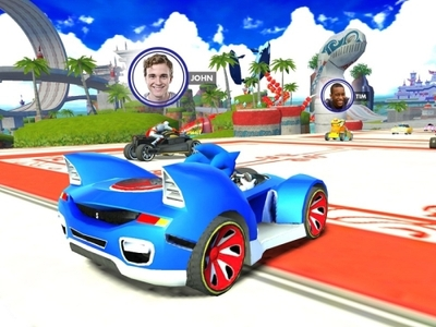 Sonic & All-Stars Racing Transformed Screenshot - Racing Transformed iOS