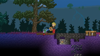 Starbound Screenshot - farming starbound