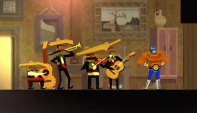 Guacamelee! Screenshot - guacamelee! mariachi band