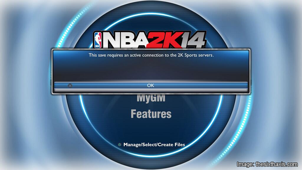 NBA 2K14 Screenshot - We couldn't stop the always on beast