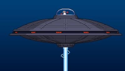 Starbound Screenshot - Starbound UFO Penguin Boss