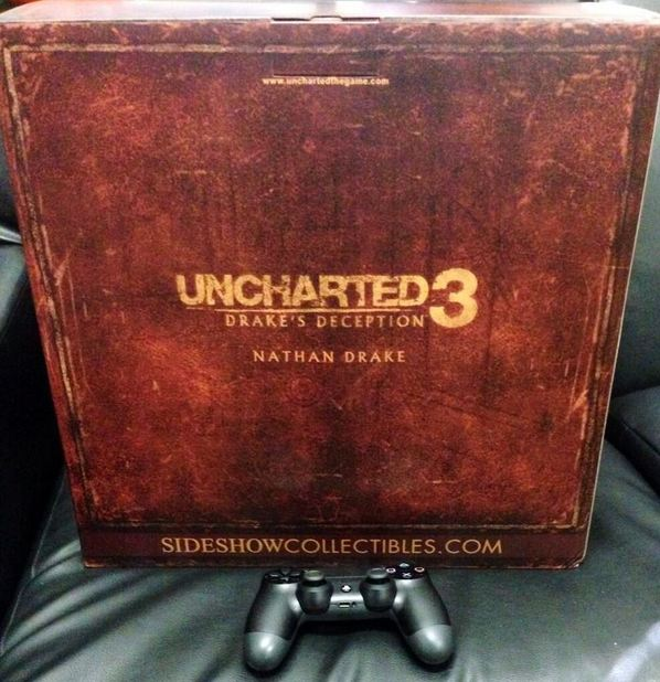 Uncharted 3 PS4 teaser