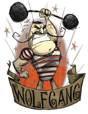 don't starve wolfgang
