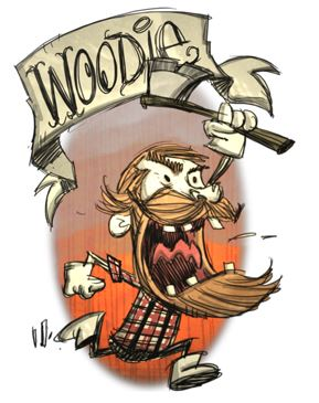 don't starve woodie