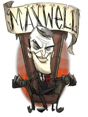 don't starve maxwell