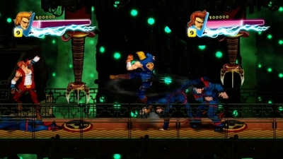 Double Dragon Neon Screenshot - Double Dragon Neon