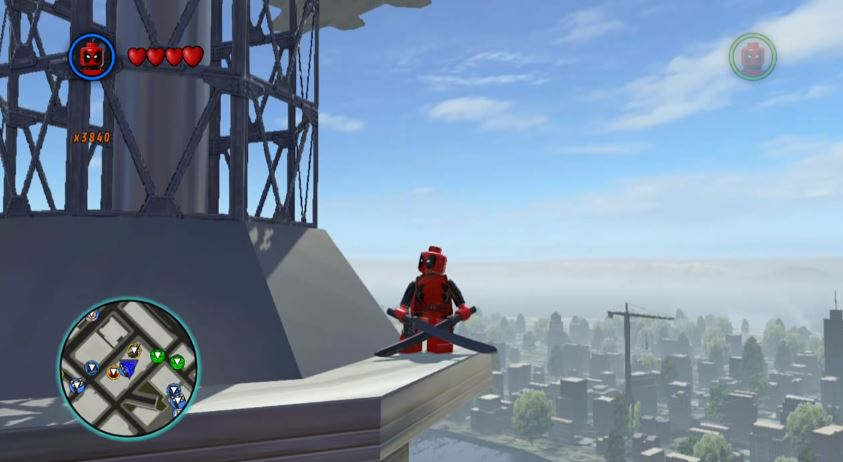LEGO Marvel Super Heroes Cheats: How to unlock Deadpool / Red Brick