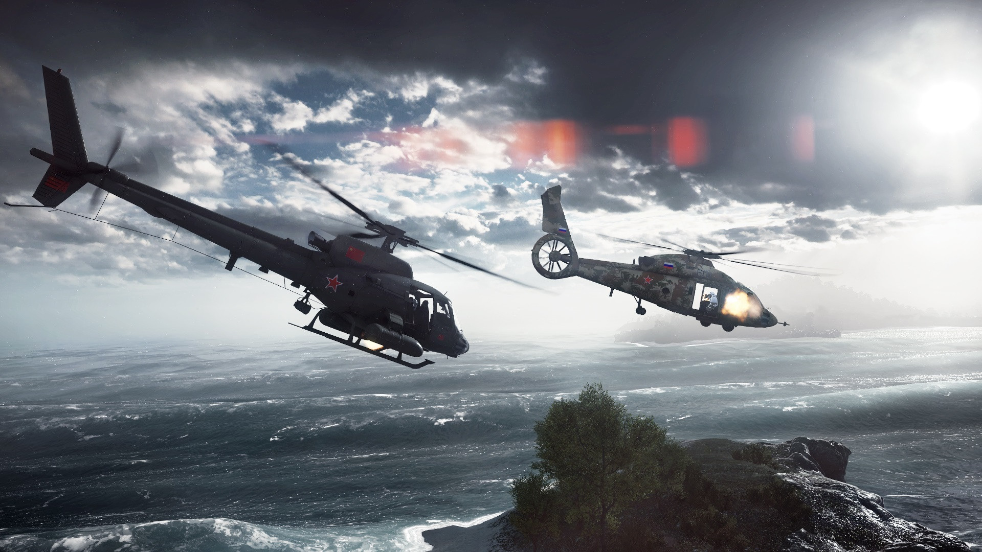 Battlefield 4 helicopter assault