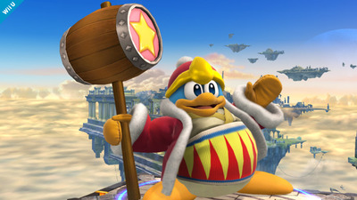 Super Smash Bros. for 3DS / Wii U Screenshot - King Dedede