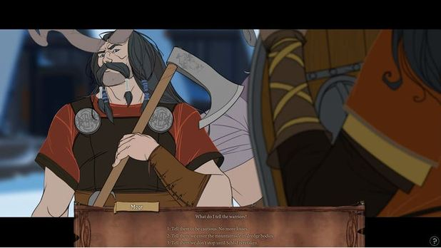 The Banner Saga Screenshot - 1158636