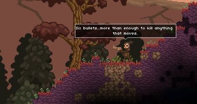 Starbound Screenshot - starbound revolver