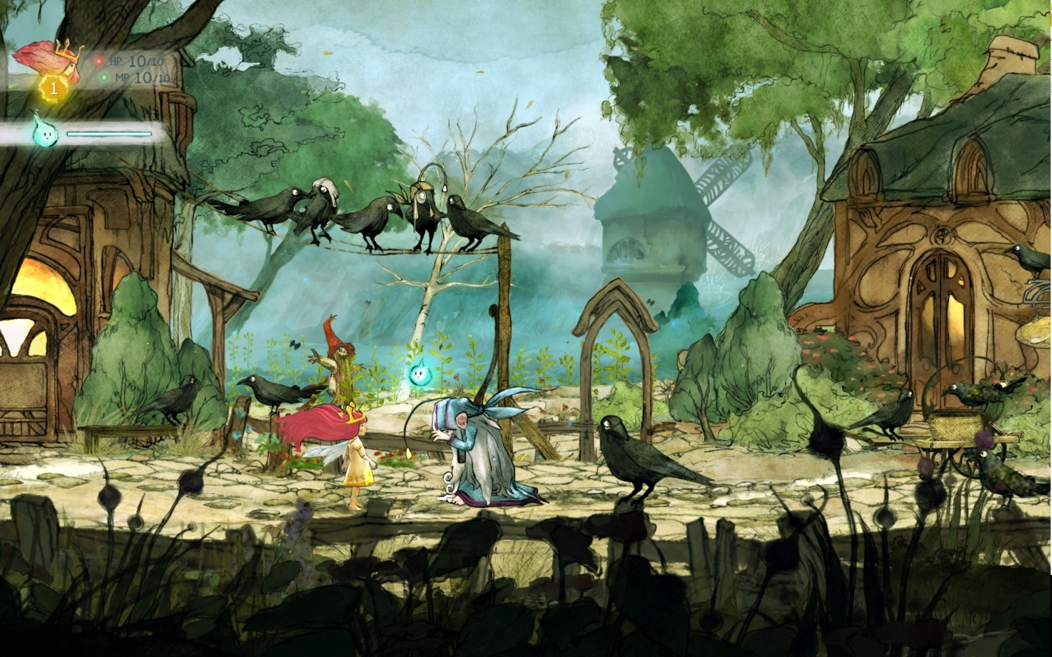 Child of Light screenshots