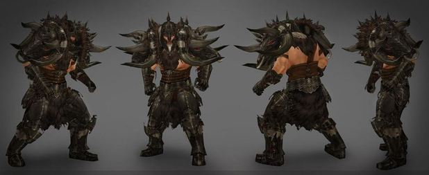 Reaper of Souls Barbarian Armor set