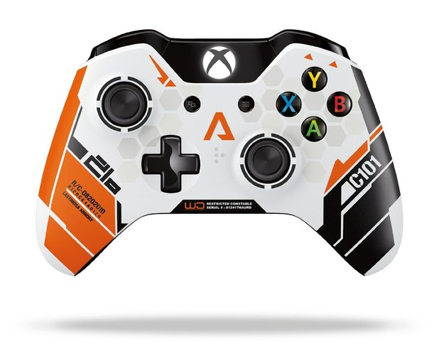 Titanfall's limited edition controller calls back to the early days of Xbox 360 customization