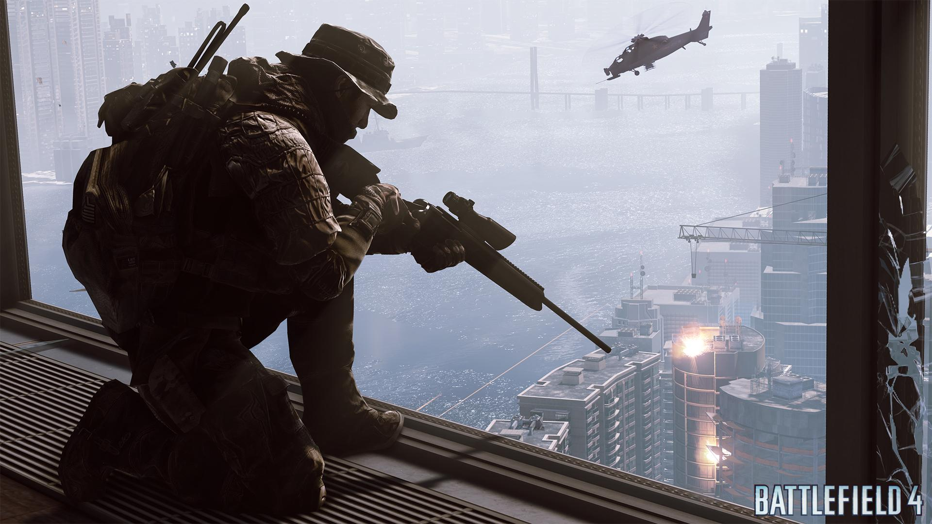 Battlefield 4 Recon sniping