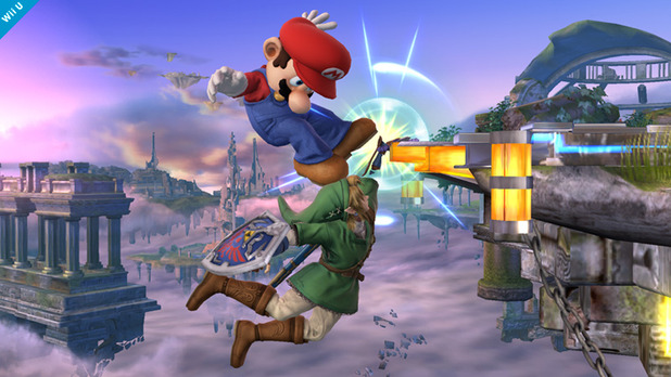 Super Smash Bros. for 3DS / Wii U Screenshot - edge-guarding
