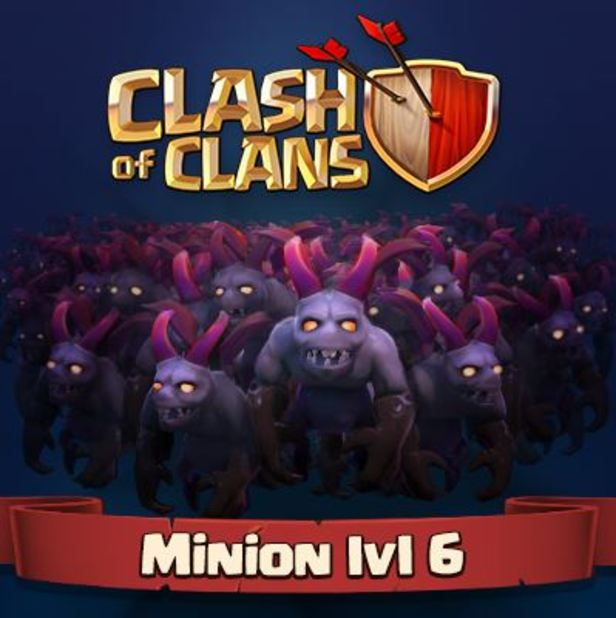Clash of Clans Screenshot - Clash of Clans level 6 minion