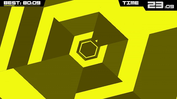 Super Hexagon - iOS - 2