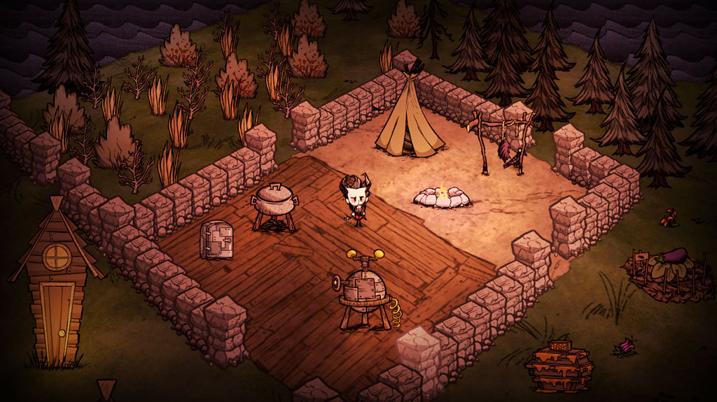Don't Starve camp