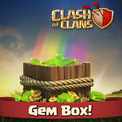 Clash of Clans Sneak Peek #2: Gems Box