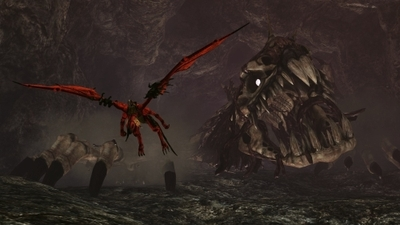 Crimson Dragon Screenshot - Crimson Dragon
