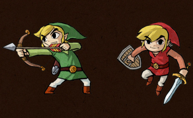 The Legend of Zelda: Four Swords Adventures Screenshot - Four Swords Anniversary