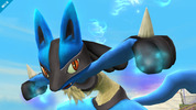 Super Smash Bros Lucario Wii U