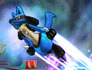 Super Smash Bros Lucario 3DS