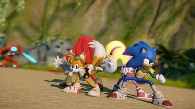 Sonic Boom: Rise of Lyric Screenshot - Sonic Boom