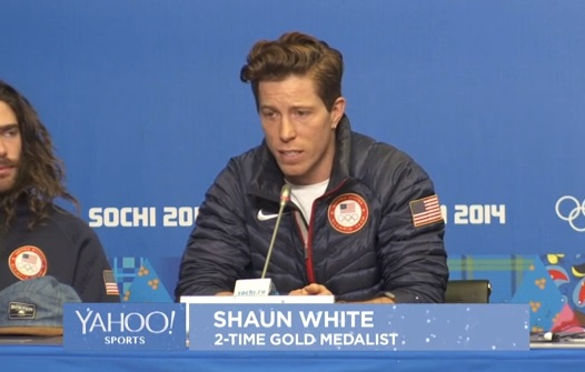 shaun white slopestyle withdraw