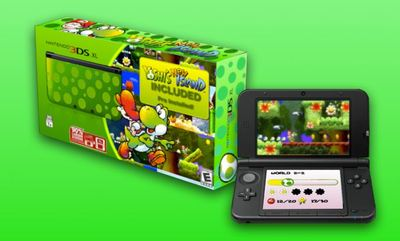 Nintendo 3DS XL Screenshot - Yoshi's New Island 3DS XL Bundle