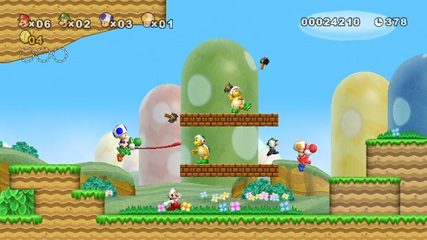 New Super Mario Bros. Wii - Wii - 4