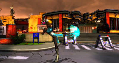 Monster Madness Online Screenshot - Interpol Jen