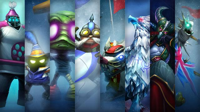 Winter Games Skins