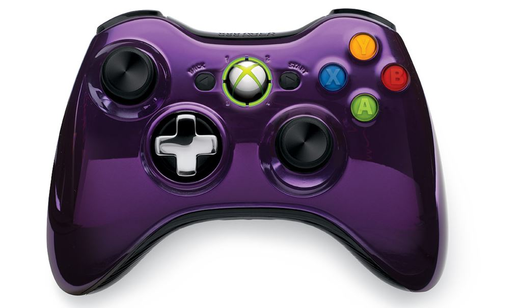 All Xbox 360 Controllers : These two new xbox controllers are chrome tacular