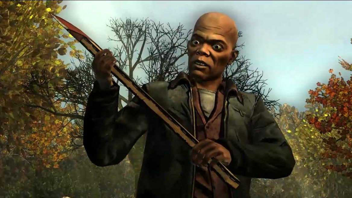 Samuel L. Jackson in The Walking Dead