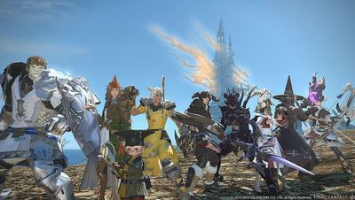 Final Fantasy XIV PS4